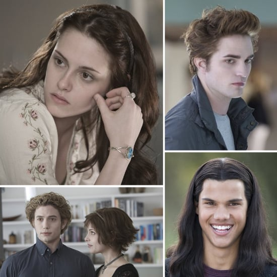 Twilight Characters: Then and Now