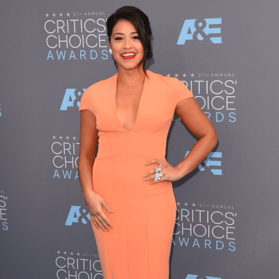 Gina Rodriguez's Dress at the Critics' Choice Awards 2016