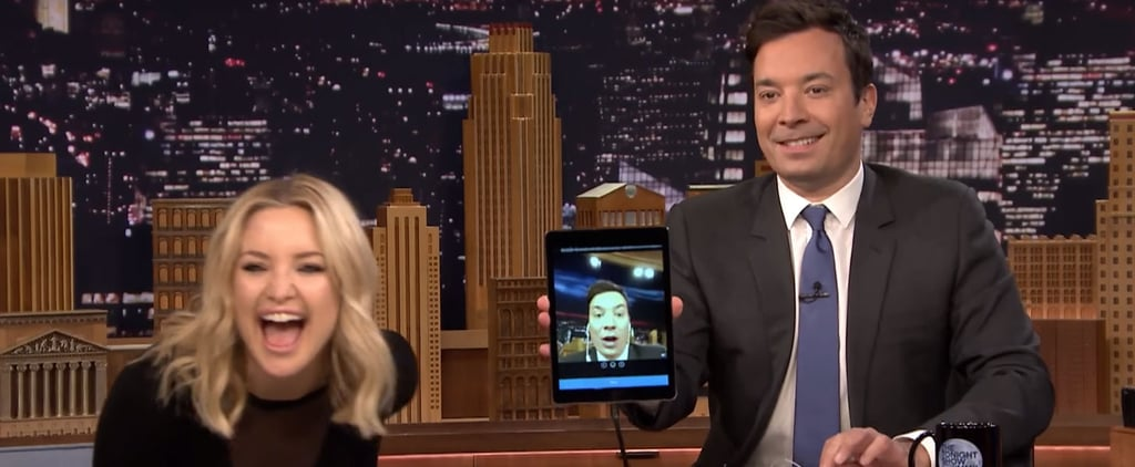 Kate Hudson Dares to Cover Adele During a Game of Dubsmash With Jimmy Fallon