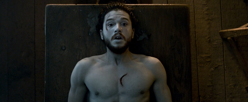 Kit Harington's Naked Body Is the Star of the Season 6 Game of Thrones Blooper Reel