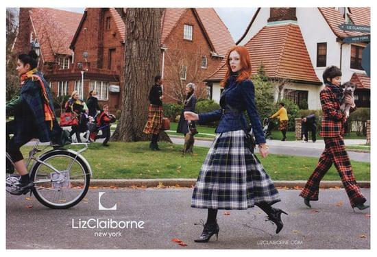 Coco Rocha Stars in Liz Claiborne's Fall 2009 Ads