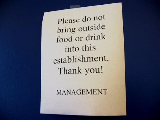 Do or Don't: Bringing Outside Food/Drink Into a Restaurant