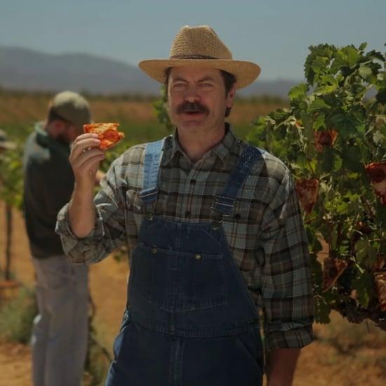 Nick Offerman Pizza Farm PSA Video