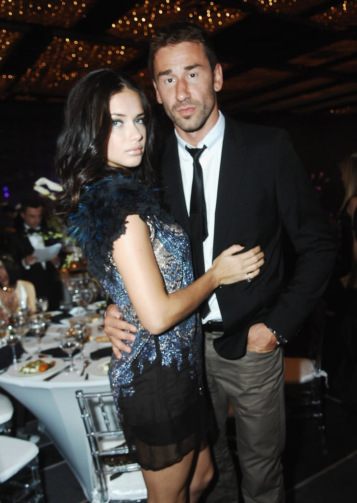 Adriana Lima and her husband, Marko Jarić, had their second daughter, Sienna Jarić, in September.