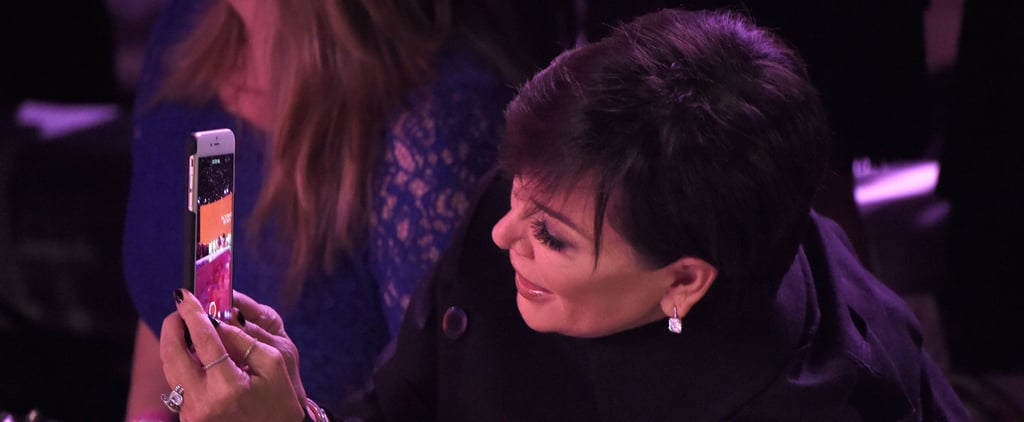 Kris Jenner Was 100% Regina George's Mum at the Victoria's Secret Fashion Show