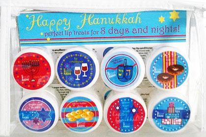 A Sweet Lip Balm Set For Hanukkah