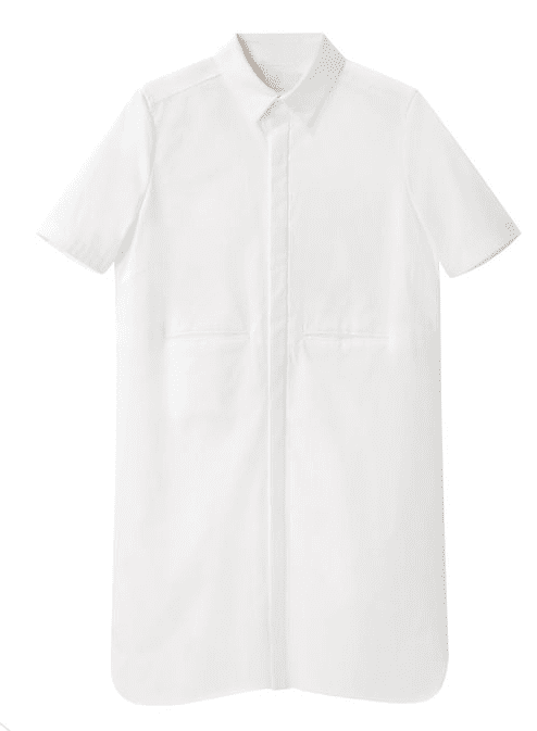 Sure, this AR Oversize Shirt Dress ($336, originally $480) will feel easy and breezy now with sandals, but it will look perfect underneath a cozy sweater, too.