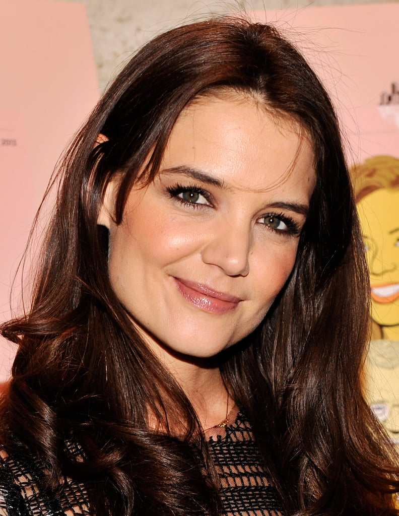 Katie Holmes looked radiant in NYC.