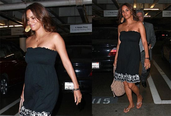 Halle Berry Shops in Beverly Hills
