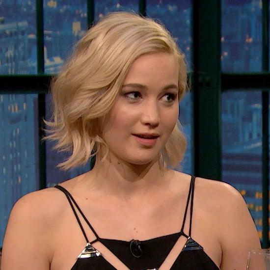 Jennifer Lawrence Talking About Her Crush on Seth Meyers