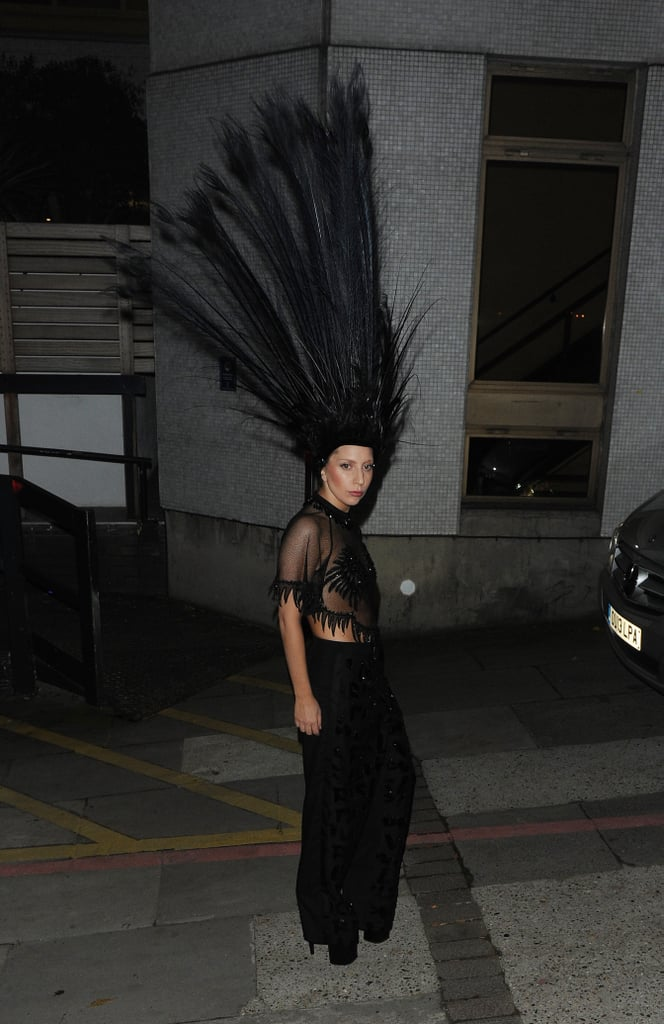 Lady Gaga in Louis Vuitton in London in 2013