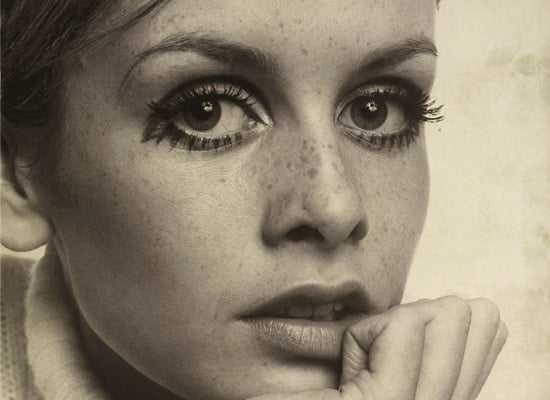 Twiggy Exhibition at National Portrait Gallery Celebrating 60th Birthday