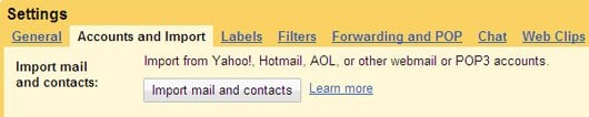 Gmail Now Imports Your Old Mail and Contacts From Hotmail, Yahoo, or AOL to Your New Gmail Account