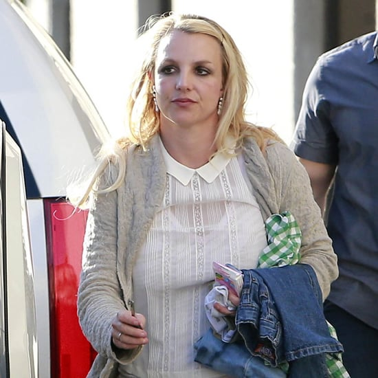 Britney Spears and Mom Take Kids to Playground   Pictures