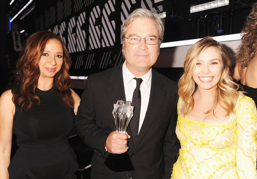 Maya, Gore, and Elizabeth