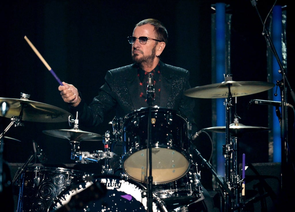 Ringo Starr played the drums for Paul McCartney.