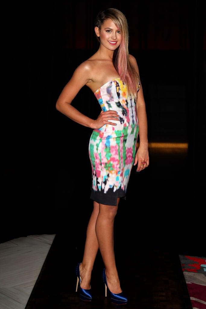 2012: Jesinta Campbell