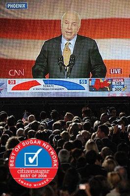 Favorite John McCain Moment of 2008: His Graceful Concession Speech