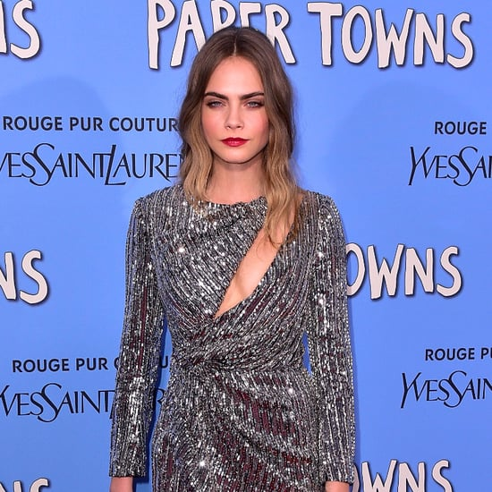 Cara Delevingne's Paper Towns Red Carpet Looks