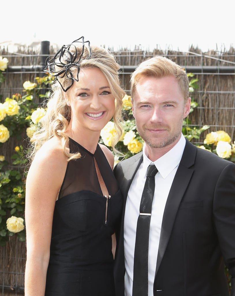 Storm Uechritz and Ronan Keating.