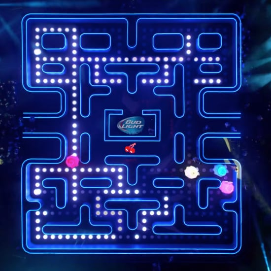 Bud Light Super Bowl Commercial With Real-Life Pac-Man