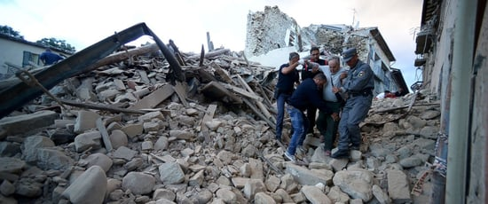 At Least 120 Killed in Earthquakes that Shook Italy