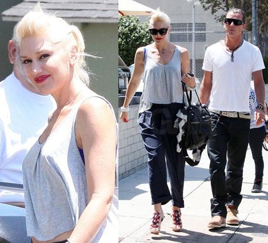 Pictures of Gwen Stefani in LA