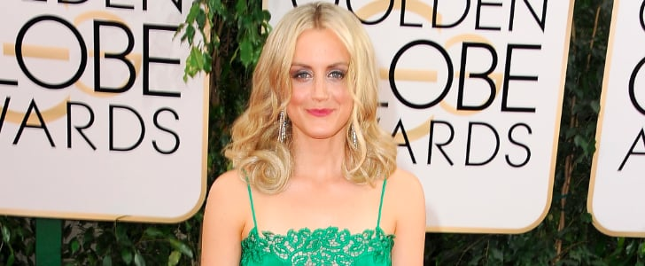 Taylor Schilling Trades Her Orange Jumpsuit For a Glam Look