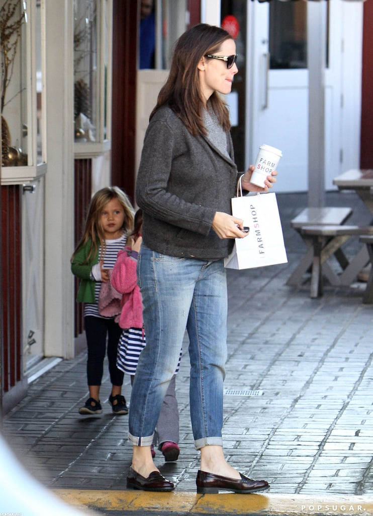 Jennifer Garner and Seraphina Affleck went out to grab breakfast in Brentwood.