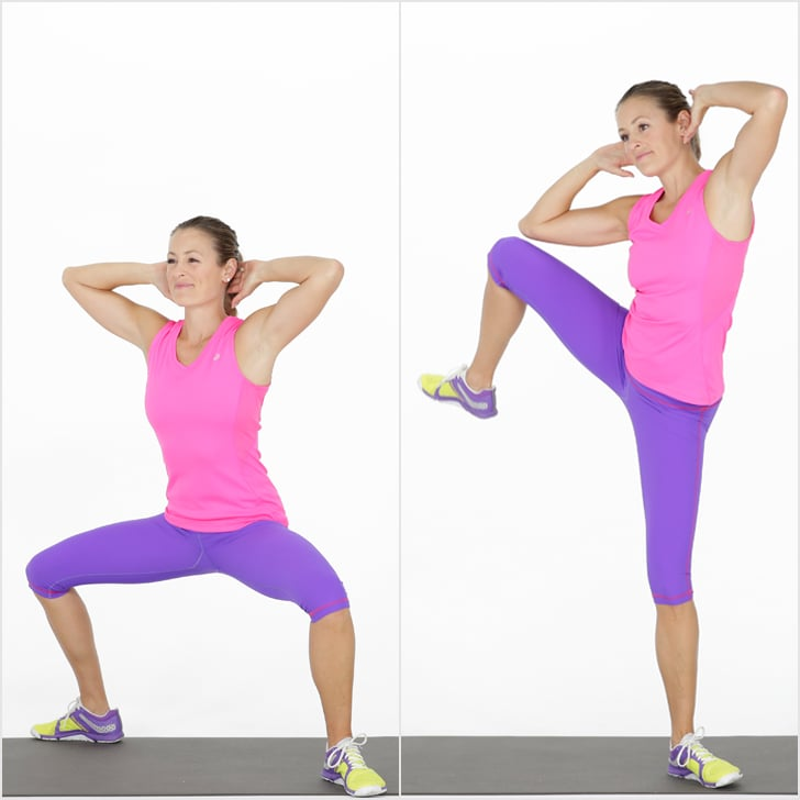 Bodyweight Workout For Abs Popsugar Fitness