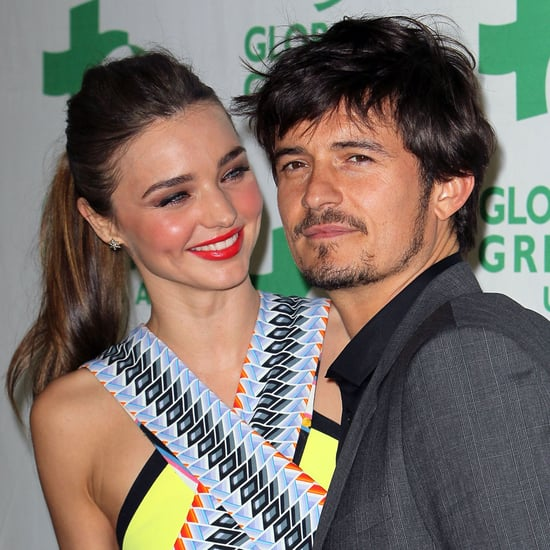 Miranda Kerr and Orlando Bloom at Global Green Pre-Oscars