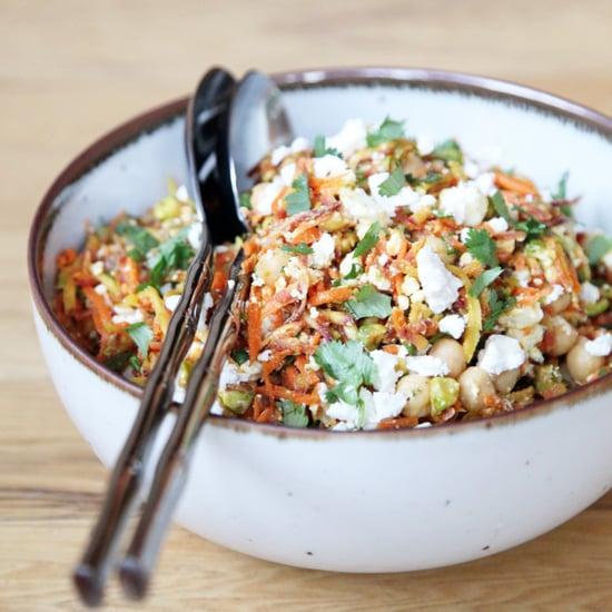 Carrot, Chickpea, and Feta Salad