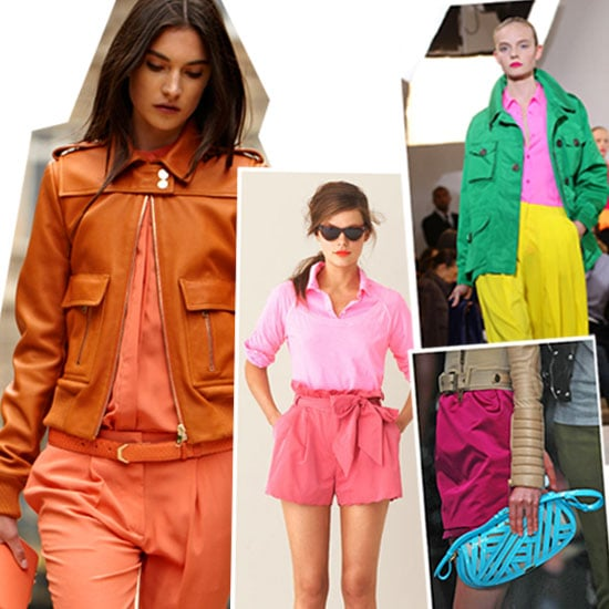 How to Wear Bright Color Combinations