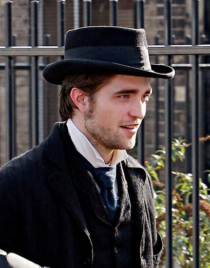 Rob is in Kent for shooting scenes of his new movie