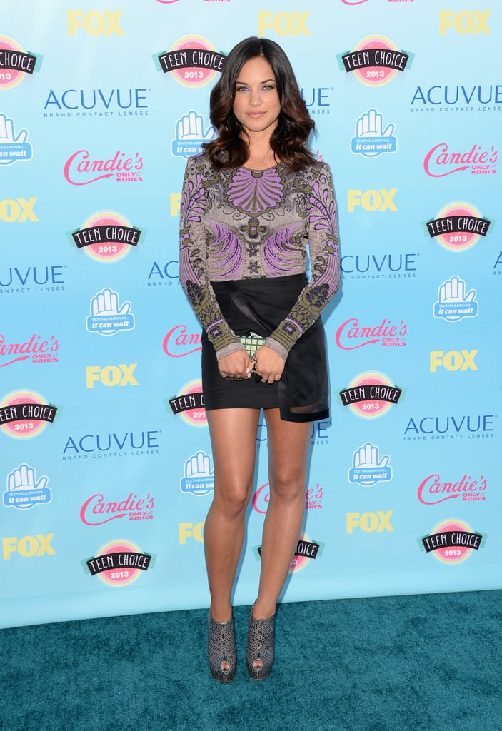 Alexis Knapp attended the 2013 Teen Choice Awards.