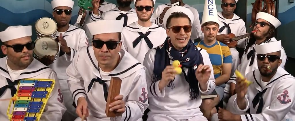 "Jimmy Fallon and The Lonely Island Singing ""I'm on a Boat"" With Classroom Instruments Is Almost Better Than the Original"
