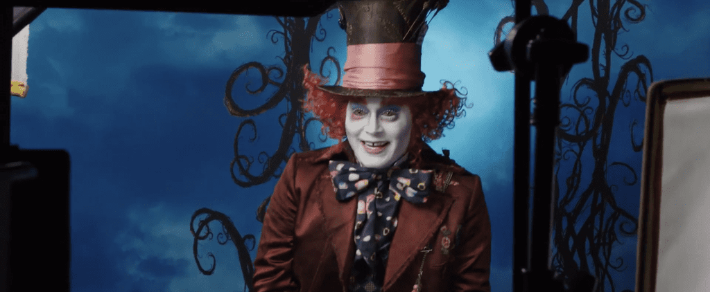 Johnny Depp Surprises Guests at Disneyland While Dressed Up as the Mad Hatter