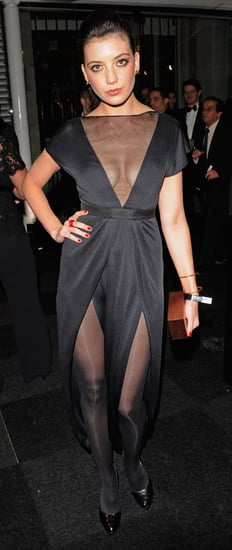 Daisy Lowe at the London launch of the 2010 Pirelli Calendar