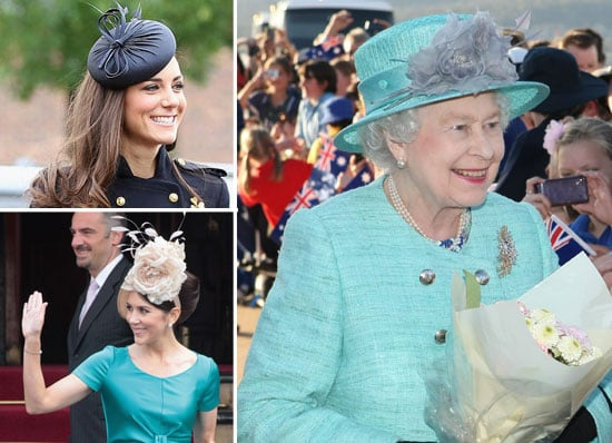 Pictures of the Royal Family Wearing Hats and Fascinators: Queen Elizabeth II, Kate Middleton, Princess Eugenie & Princess Mary!