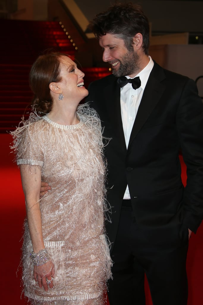 Julianne Moore and Bart Freundlich in 2014