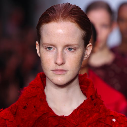 Giambattista Valli Fall 2014 Hair and Makeup | Runway