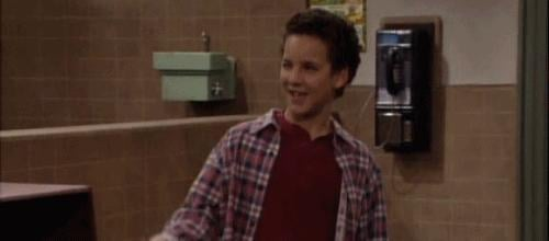 First of all, Cory Matthews is just the cutest.