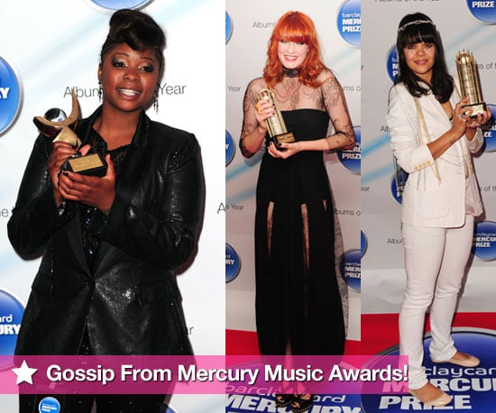 Photos of Speech Debelle, Florence Welch, Bat For Lashes at Mercury Music Awards 2009