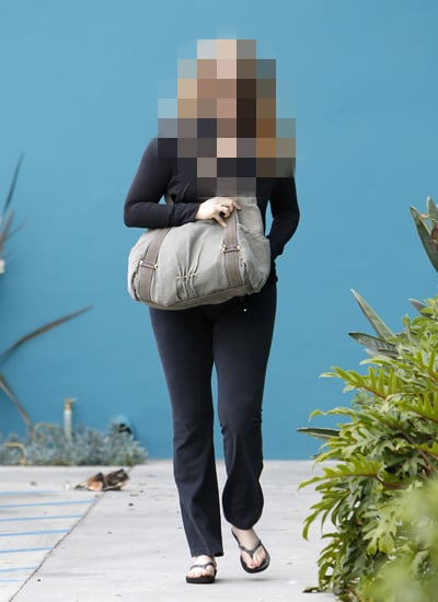 Guess Which Celebrity Mom-to-Be Is Headed to Pilates?