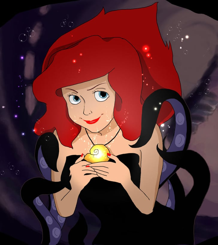 evil ariel these disney princesses gone bad look so so