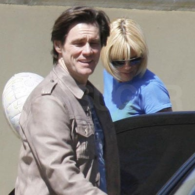 Jim Carrey and Jenny McCarthy Out on Easter