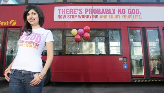 Advertising Is Not Dead! Atheist Bus Campaign Runs in UK