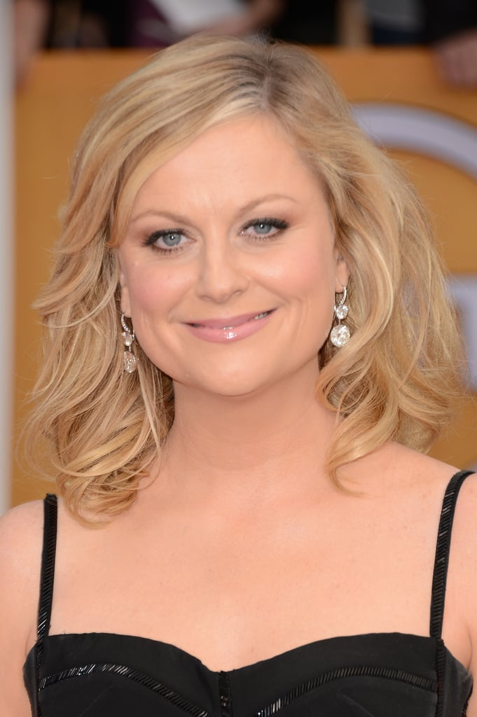 Amy Poehler Is Back in Black at the SAG Awards