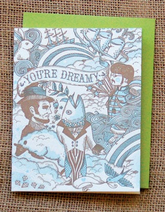 The Card Shop: Hello!Lucky Dreamy Card