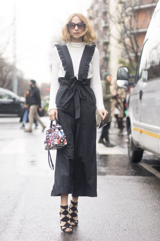 Milan Fashion Week Street Style Fall 2016 Popsugar Fashion